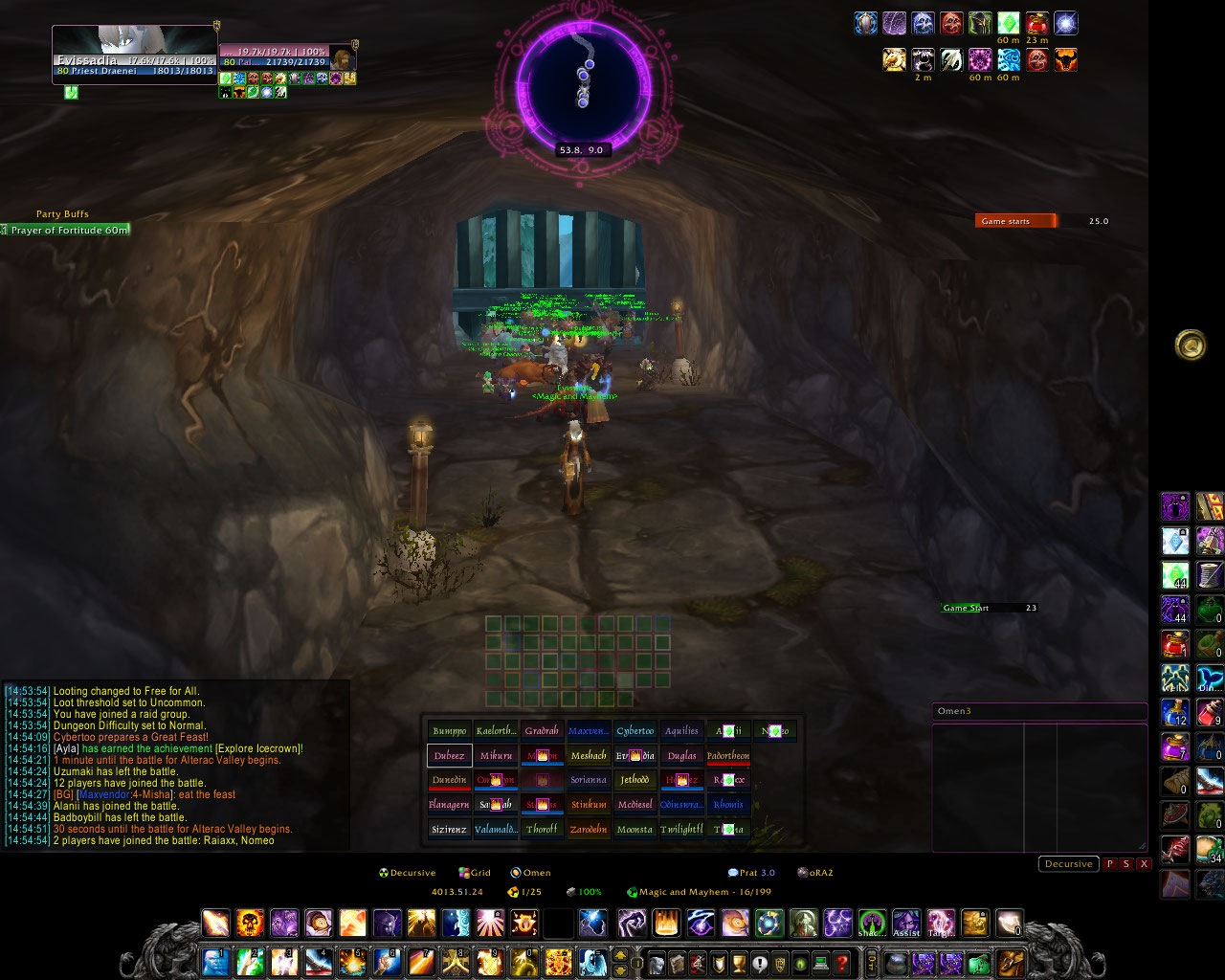 33 Raid Healing UIs
