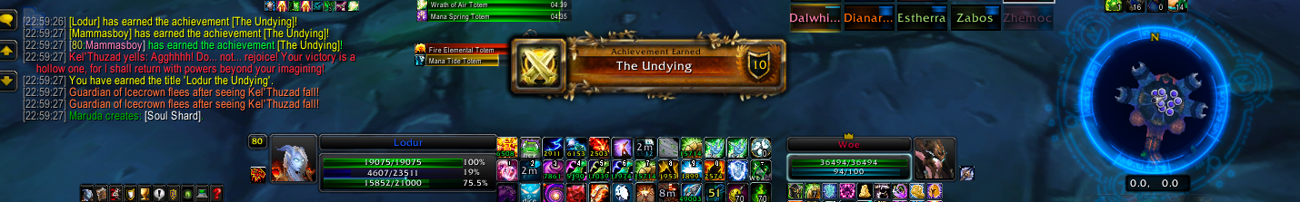 Filling the Void Until Ulduar