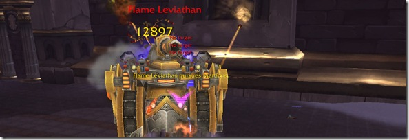 Healing Ulduar: Flame Leviathan