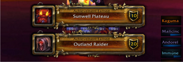 The Hyjal / Sunwell Effect