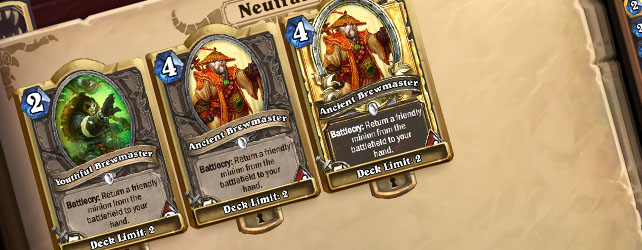 Hearthstone: Paladin Brewmaster Control