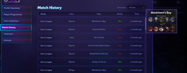 Hearthstone Needs a Match History Option