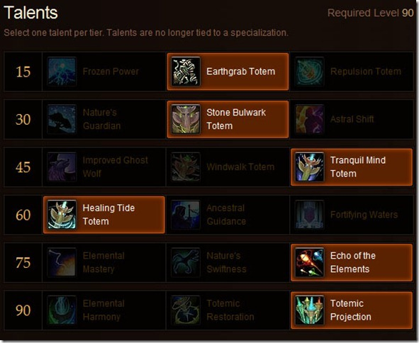 Shaman Healing Talents for MoP – Choose Wisely!